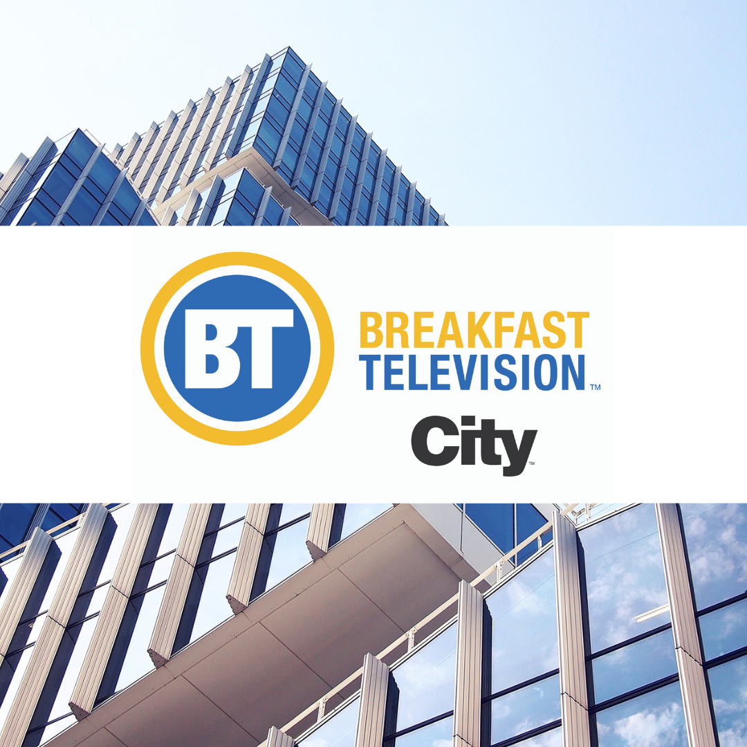 Image: City TV's Breakfast Television features RWDI