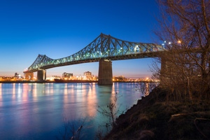 Image: Jacques Cartier Bridge – Challenges in Wind Rehabilitation Work of an Old Steel Truss Bridge