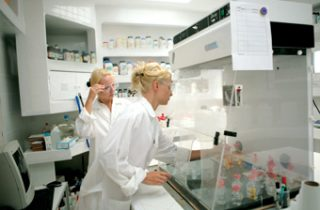 Image: Balancing Safety and Sustainability to Provide a High Performance Laboratory Building