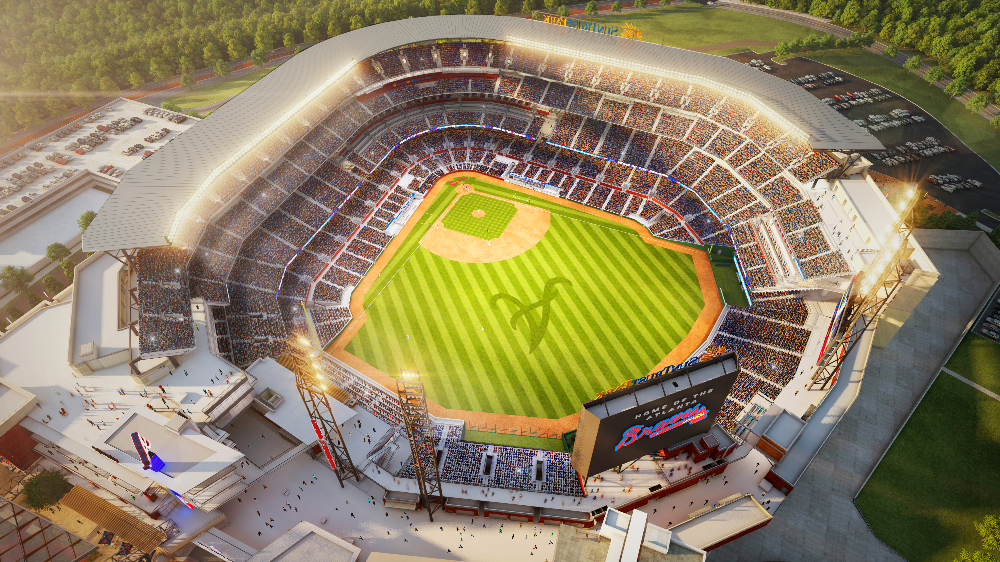 Image: SunTrust Park (Atlanta Braves Ballpark)