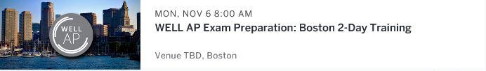 WELL AP Exam preparation Workshop Boston