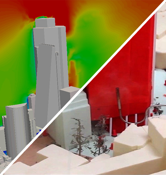 Image: Statement on CFD and Wind Tunnel Testing for Wind Engineering of Buildings