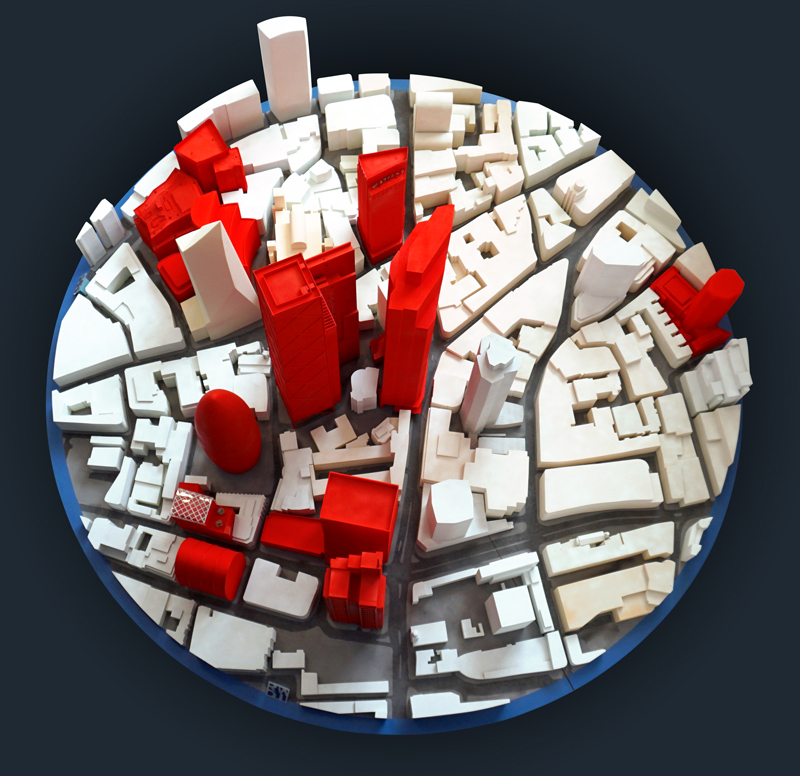 Image: Modeling the cities of tomorrow: City of London