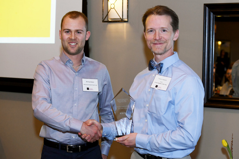 Image: RWDI Named Guelph Co-op Employer of the Year