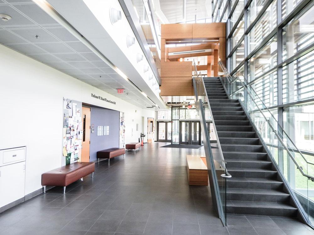 natural light in building interior