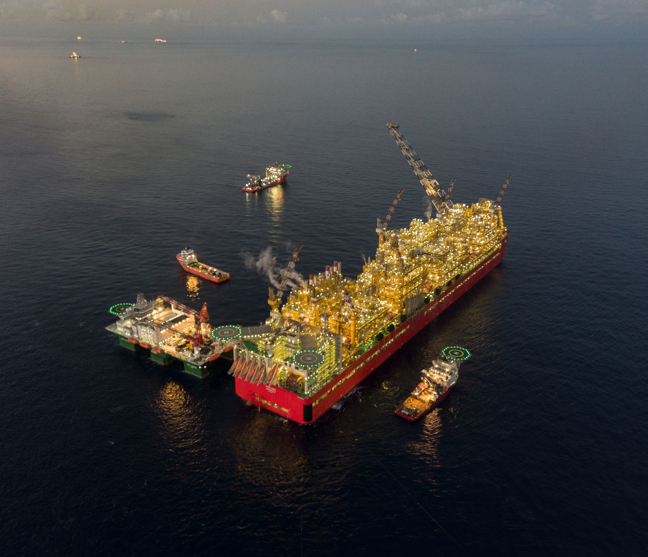 Floating Liquefied Natural Gas (FLNG) facility