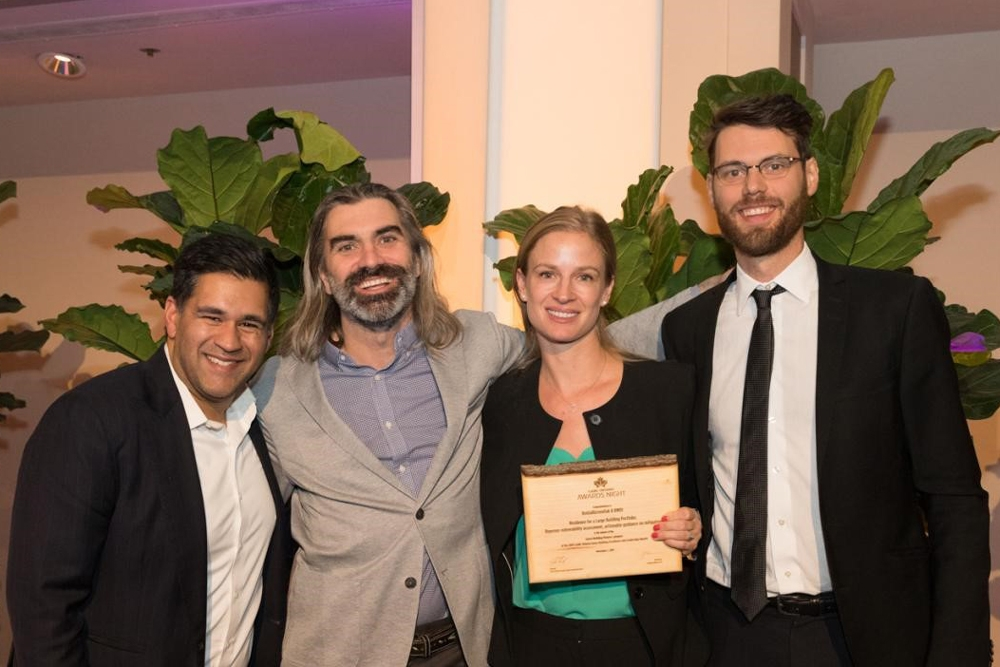 Image: Sustainability award for RWDI's innovative building-resilience approach
