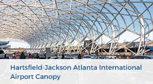 Hartsfield-Jackson Atlanta International Airport Canopy