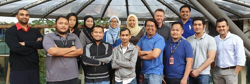 Group of Kuala Lumpur RWDI employees