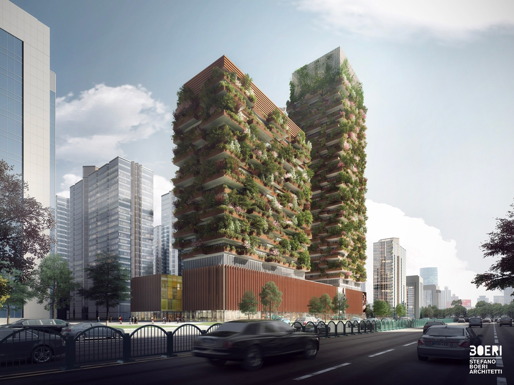 Image: Nanjing Vertical Forest
