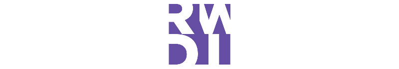 purple RWDI logo