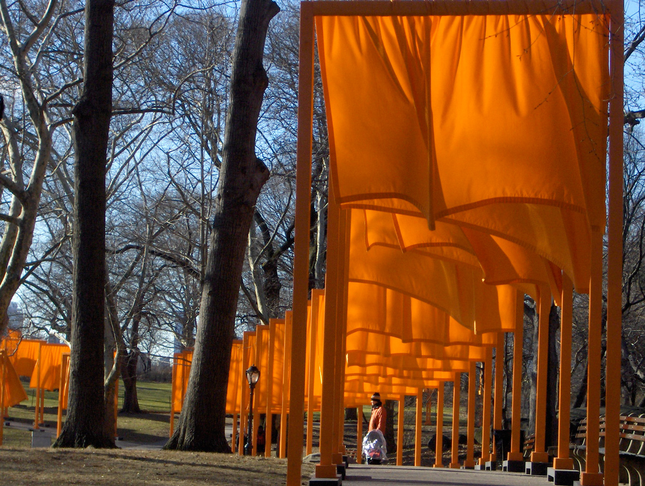 Image: The Gates Project for Central Park