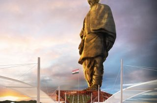 Image: World's tallest statue, tested in RWDI's wind tunnel, unveiled in Gujarat