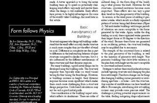 Image: Structure magazine: 'Form Follows Physics'