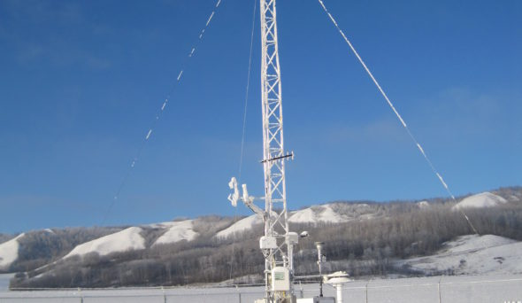 weather monitoring equipment