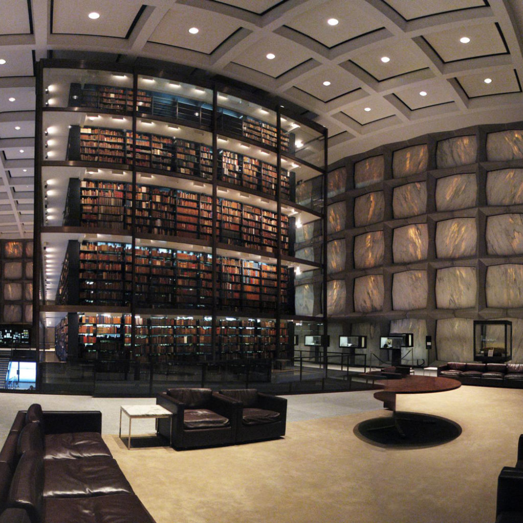 What Is Future Of Libraries >> Beinecke Rare Book & Manuscript Library, Yale University - RWDI Consulting Engineers and ...