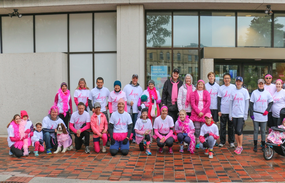 RWDI Team at Run for the Cure