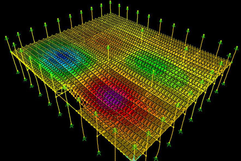 Image: Human-Induced Floor Vibrations – Controlling the Bounce