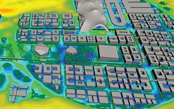 Image: Climate Responsive Master Planning: Harnessing the Microclimate Around Buildings