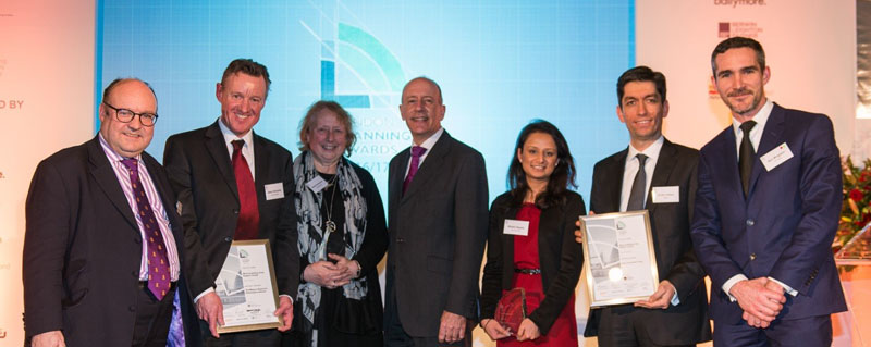 Winners at the 2017 London planning awards