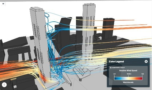 wind speed simulation