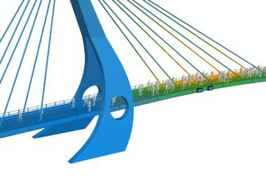 Image: Pedestrian Bridges and Walkways – Controlling Vibration Through Tuned Mass Damper Design