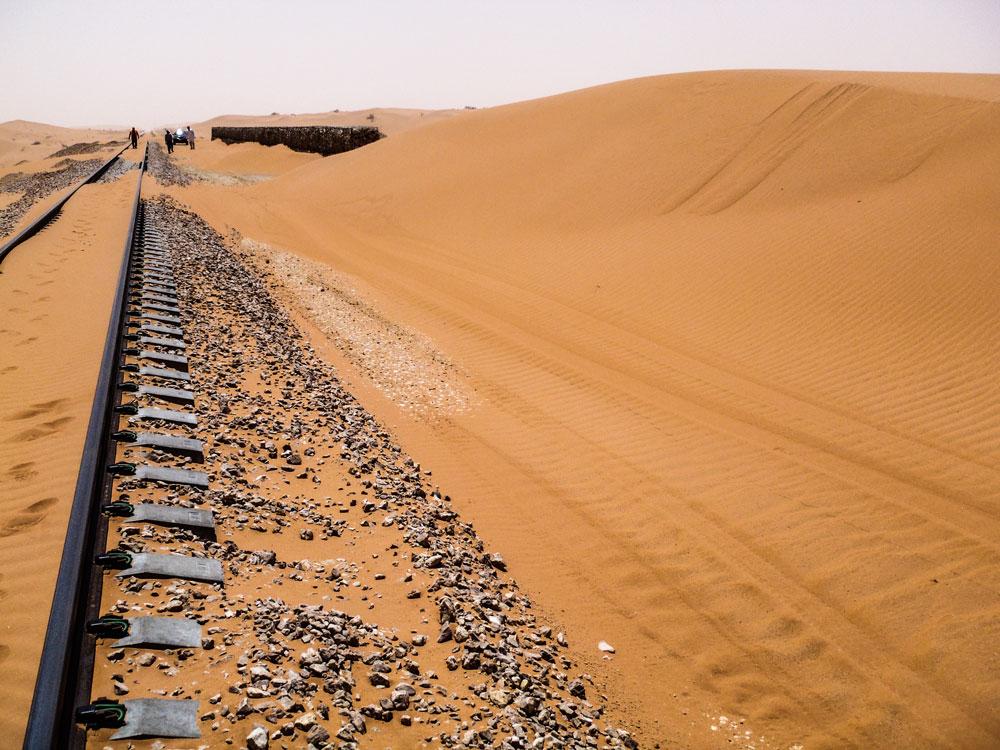 铁路线上的沙子